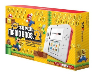 Nintendo 2ds Super Mario Bros 2 Edition Consola Portatil