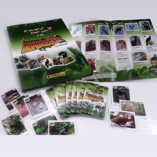 Álbum De Figurinhas Naurú Mirim E Os Animais Da Amazônia