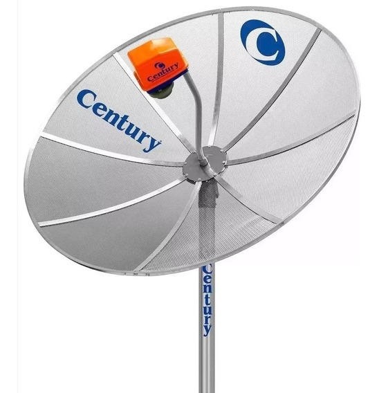 Antena Century 1.70m Com Lnbf Sem Receptor 17