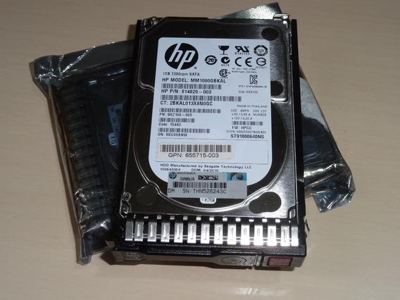 Hd P/servidores 1tb Mm1000gbkal Hpc/case 6g 7,2k 2,5