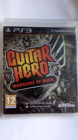 Jogo Guitar Hero Warriors Of Rock Ps3