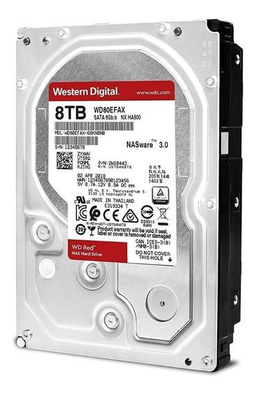 Hd Western Digital Wd Red 8tb Nas 256mb Wd80efax