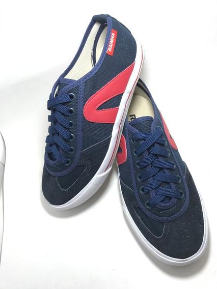 Tênis Rainha Vl 2500 Futsal, Volêi Azul Marinho / Vermelho