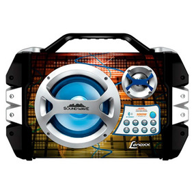 Caixa Amplificada Sound Wave Lenoxx Bluetooth 100w