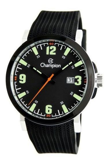 Relógio Masculino Champion Silicone Sport Original Ca31711p