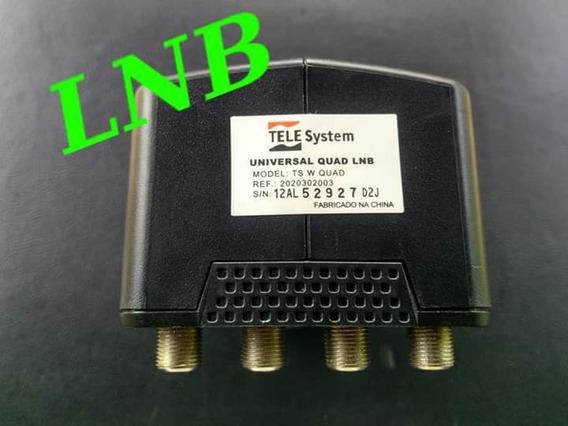 Lnb Universal Para Antena Com 4 Pontos