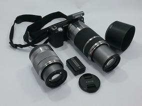 Câmera Sony Alpha Nex-5n Com 2 Lentes
