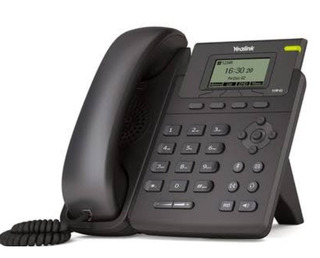 Telefone Ip Yealink Modelo T19 - Com Nfe E Garantia 1 Ano