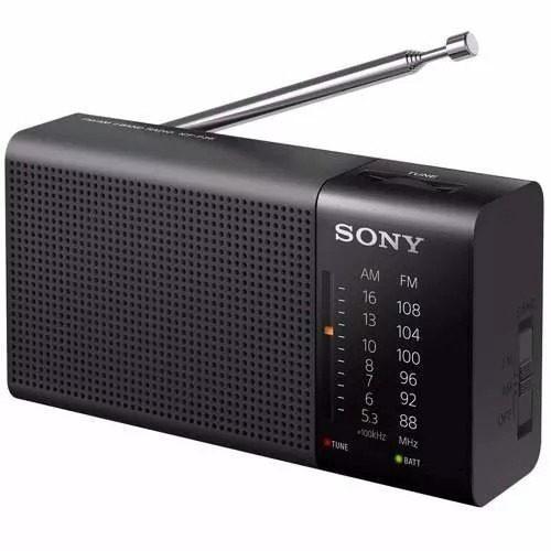 Rádio Portátil Sony De Bolso Pocket Am/fm Promoção Barato