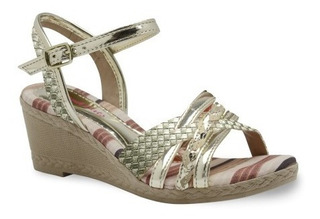 Sandália Infantil Anabela Pinkcats W8722 - Maico Shoes