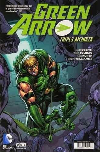 Libro - Comic Animal Man 03 Gren Arrow Triple Amenaza