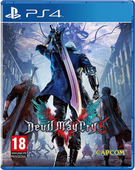 Devil May Cry 5 Ps4 Midia Fisica Original Lacrado