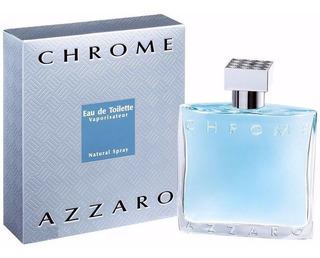 Chrome De Azzaro Eau De Toilette 200 Ml