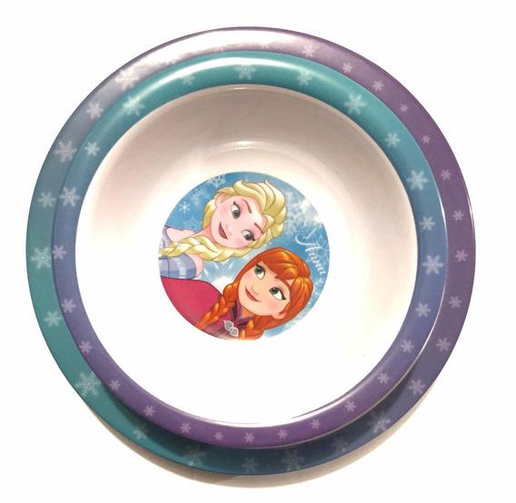 8 Platos (paquete) Elsa Frozen Recuerdo Fiesta Hondo Y Plano