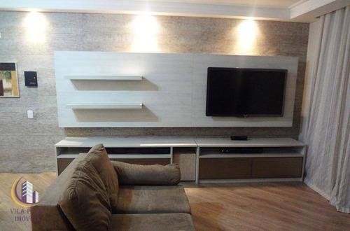 Apartamento Com 2 Dormitórios À Venda, 82 M² Por R$ 560.000,00 - Jaguaré - São Paulo/sp - Ap1439