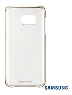 Samsung - Capa Clear Cover Original Galaxy S7 Flat Sm-g930
