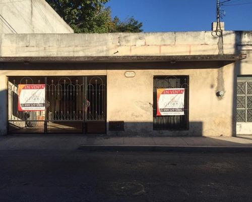 Casa En Venta Dentro Del Primer Cuadro Del Centro Histórico De La Ciudad De Mérida Yucatan