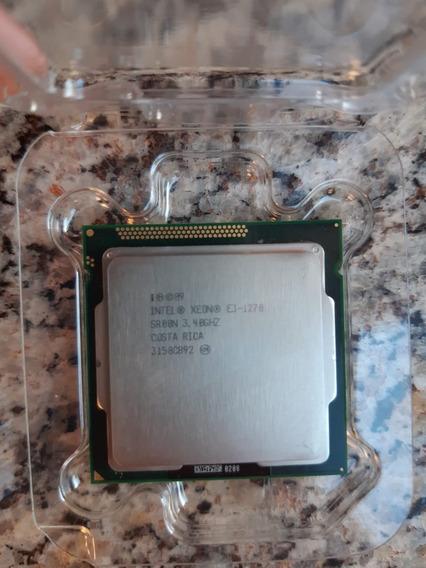 Processador Intel Xeon E3 1270 V1 Cache 8m, 3.40 Ghz 1155