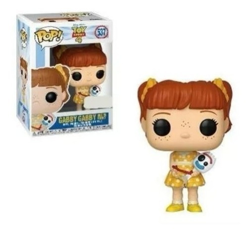 Funko Pop Toy Story 4 537 - Gabby With Forky Exclusivo