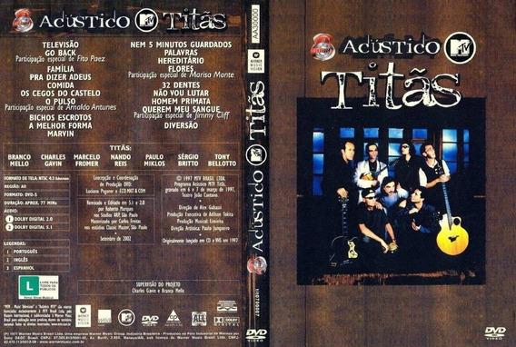 Acústico Mtv Titãs Dvd Original