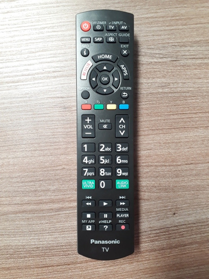 Controle Remoto Tv Panasonic Tc-32fs600b