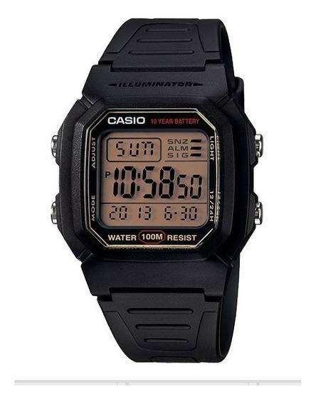 Relogio Casio W-800h Retrô-vintage Alarm Crono Luz Wr W800h
