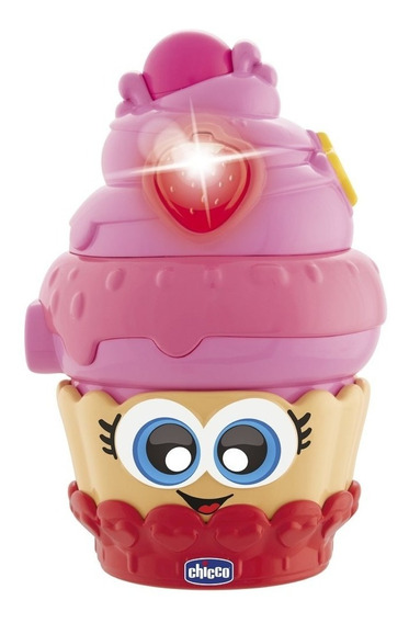 Juguete Candy Cupcake Lover Chicco Luz Melodias Babymovil