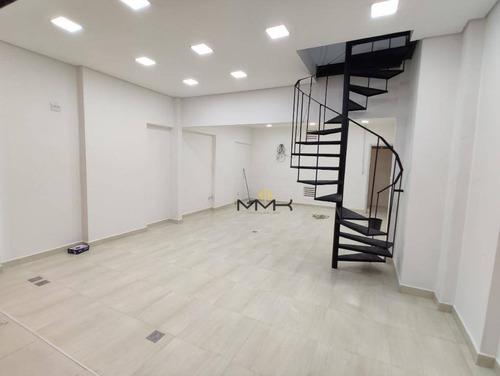 Loja Pronta Para Sua Empresa No The Blue Offices Mall Em Santos/sp - Praça De Alimentação Com 38 M² - Lo0025