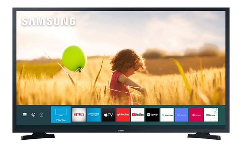 Imagem 1 de 6 de Smart Tv Samsung 40 Polegadas Fhd Hdmi Usb Tizen 40t5300