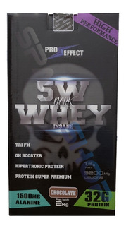Whey Protein 5w 2kg Isolado Pró Dark Insane Full