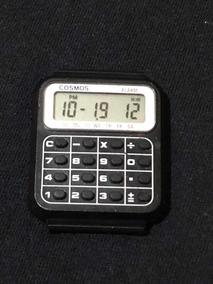 Relógio Cosmos Calculadora Anos 80