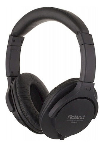 Imagen 1 de 4 de Auriculares Roland Rh-5 Negro