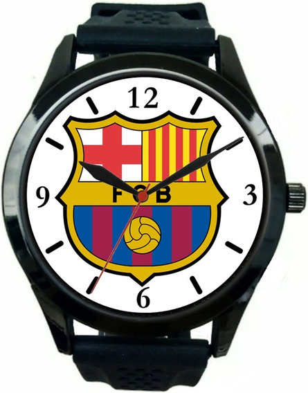 Relógio Pulso Barcelona Barato Esportivo Personalizado Novo