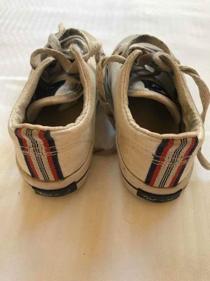 Zapatillas Topper Blancas Talle 24!