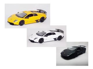 Kit 3 Un - Miniatura Carro Lamborghini Murciélago Lp670 1:36