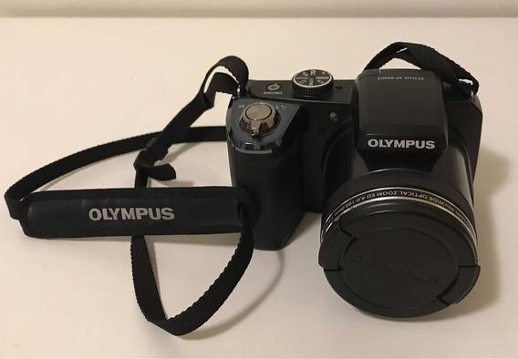 Câmera Digital Olympus Stylus Sp-820 Full Hd