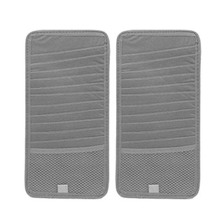 Uxcell Uxcell A17041200ux1357 2pcs Gris Rectángulo