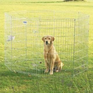 Corral Jaula Perros 8 Paneles Pequeño Savic Dog Park 3