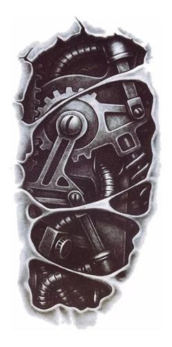Tatoo Tatuaje Temporal Maquina 15x12