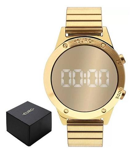 Relógio Euro Feminino Fashion Reflexos Dourado Eujhs31bab/4d