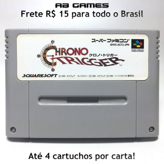 Chrono Trigger Japonês Super Famicom