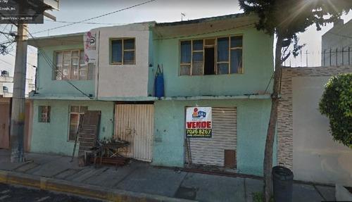 Imagen 1 de 13 de Casa En Venta En Iztapalapa Frente Plaza Comercial Las Antenas