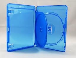 100 Estojo Bluray Bdr Duplo Azul