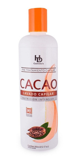 Combo Shampoo Cacao By Hd Cosmetics