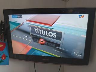 Tv Televisor Samsung Lcd 32 Pulgadas Usado