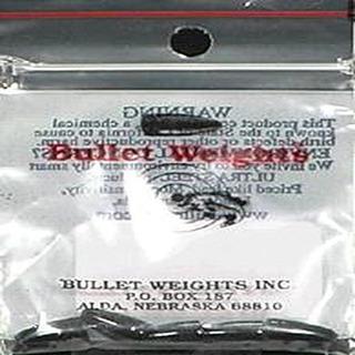 Bullet Pesos Inc Snkr 1 / 8oz Blk 5pc Bolsa De Pintura Bwp18