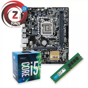 Kit I5 7400 7ª Ger Gamer 8gb Ddr4 Asus Mb H110m + Brinde