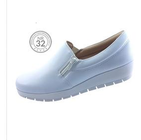 3bfb7814a Sapato Branco Malu Super Confort Feminino - Sapatos com o Melhores ...