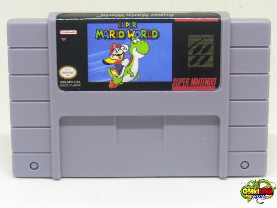 Super Mario World Salvando Super Nintendo Snes + Garantia