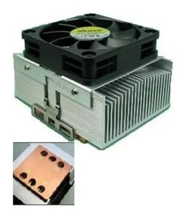 Ak-795cu Akasa Cobre Fan Cooler Intel Amd 5000rpm Base 462